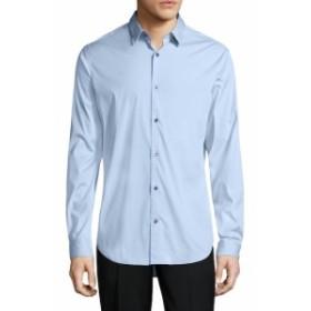 ヴィンス Men Clothing Manhattan Cotton Stretch Sportshirt