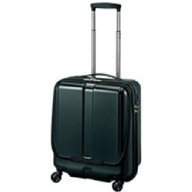 【World Traveler】プラウ スーツケース【機内持込みサイズ】【1-2泊対応】 ブラック