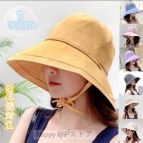 UVカット 帽子 レディース 日よけ 折りたたみ つば広 uv 春 夏 ハット ぼうし 紫外線対策 アウトドア 可愛い おしゃれ 農作業 母の日 サ