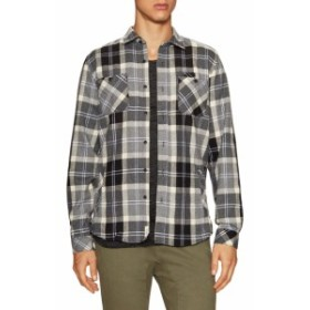 シビルソサエティ Men Clothing Kingston Chest Pockets Flannel Sportshirt