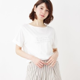 [マルイ]【セール】ロゴTシャツ/ハッシュアッシュ(レディス)(HusHusH Ladies)