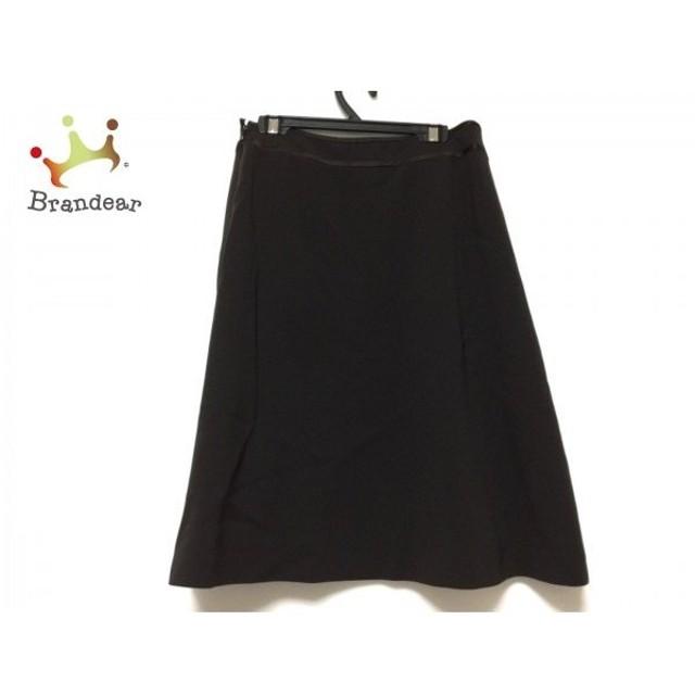 ハロッズ HARRODS スカート サイズ2 M レディース ダークブラウン   スペシャル特価 20190824