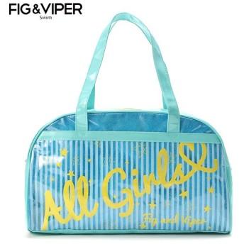 FIG & VIPER フィグアンドヴァイパー ストライプボストン サックス ビーチバック 海水小物 33951522