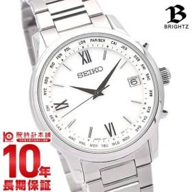 セイコー ブライツ SEIKO BRIGHTZ 電波ソーラー クラシック チタン メンズ 腕時計 SAGZ095 時計