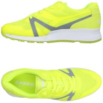 《期間限定セール開催中!》DIADORA メンズ スニーカー&テニスシューズ(ローカット) イエロー 11 紡績繊維 / ゴム