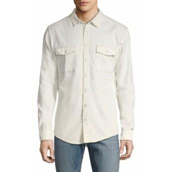 Men Clothing Solid Cotton Sportshirt