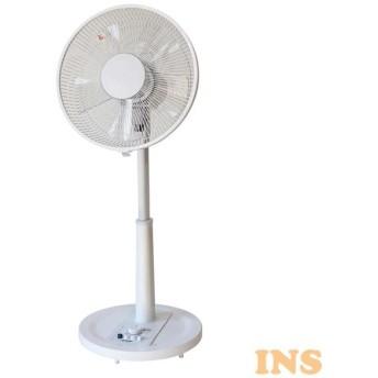 リビングメカ扇風機 フラットガード ホワイト KI-1741(W) TEKNOS (D)(B)