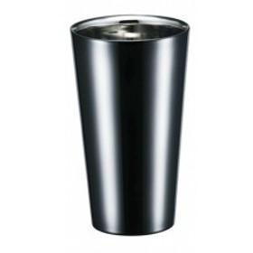 アサヒ ASAHI ブリリアント・ブラック 2重ストレートカップ 270ml SCW-14B キッチン用品