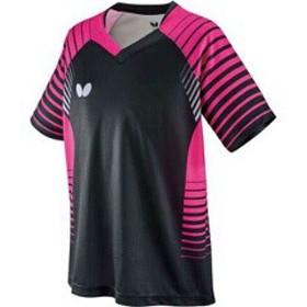 バタフライ BUTTERFLY ネオルド・シャツ [サイズ:150] [カラー:ブラック/ピンク] #45450-901 スポーツ・アウトドア