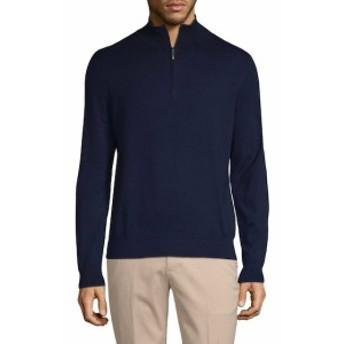 ブルックスブラザーズ Men Clothing Ribbed Zip Cotton Sweater