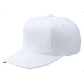 ゼット ZETT 野球用 オールニットベースボールキャップ(六方) [カラー:ホワイト] [サイズ:XO(61~62cm)] #BH121