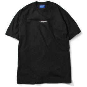 Lafayette ラファイエット LAFAYETTE SMALL LOGO TEE 半袖 Tシャツ LFT19SS040 BLACK ブラック