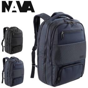 NAVA design リュック ゲート メンズ GT077 ナヴァデザイン GATE | リュックサック バックパック デイパック ビジネスバッグ キャリーオン PCケース [PO10]