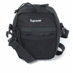 シュプリーム SUPREME 17SS バッグ ショルダー スモール Small Shoulder ポーチ 黒 ブラック /DE20 レディース