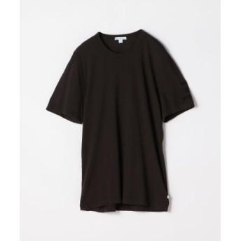(TOMORROWLAND/トゥモローランド)ビーチグラフィック クルーネックTシャツ MLJ3311TY/メンズ 18ブラック系 送料無料