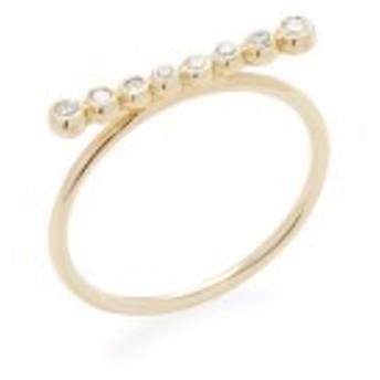 ミズキ レディース ジュエリー 14K Gold Diamond Ring