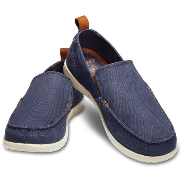 【クロックス公式】 ワルー スリップオン メン Men's Walu Slip-On メンズ、紳士、男性用 ブルー/青 25cm,26cm,27cm,28cm,29cm loafer ローファー 靴 40%OFF