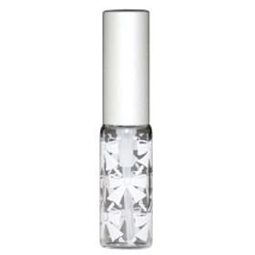 リボン アトマイザー アルミキャップ グラデーションカラー プラスチックポンプ 58206 (MSリボン ホワイト) 4ml