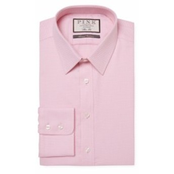 トーマスピンク Men Clothing Cai Spot Cotton Dress Shirt