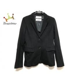 プラステ PLS+T(PLST) ジャケット サイズ2 M レディース 美品 黒   スペシャル特価 20190822