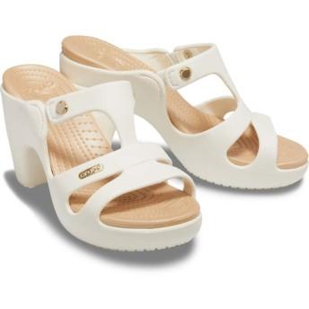 【クロックス公式】 サイプラス 5.0 ヒール ウィメン Women's Cyprus V Heel ウィメンズ、レディース、女性用 ホワイト/白 23cm,24cm,25cm heel ヒール パンプス ミュール 30%OFF