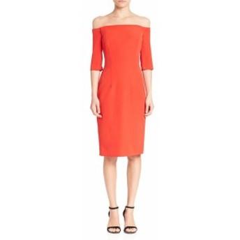 ミリー レディース ワンピース Italian Cady Off-The-Shoulder Dress