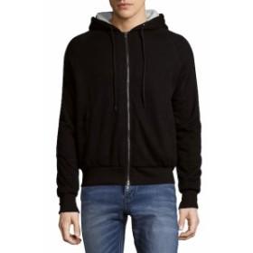 サックスフィフスアベニュー Men Clothing Hooded Full Zip Jacket