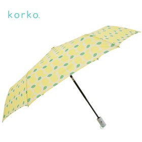 [マルイ] 雨傘【korko(コルコ)】(折りたたみ傘/ワンタッチ自動開閉/軽量/220g/はっ水)/コルコ(korko)