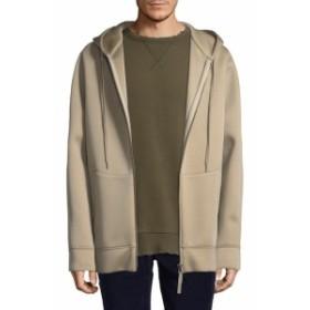ヘルムートラング Men Clothing Tape Zip Up Jacket