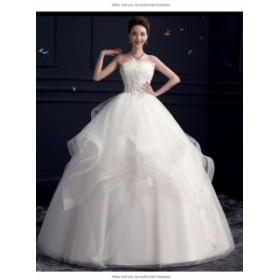 ドレス ウェディングドレス ワンピース パーテイードレス ミモレ丈ドレス ドレス イブニング 大きいサイズ 二次会 披露宴 同窓会 可愛い