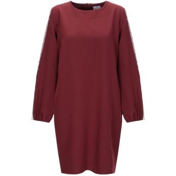 《セール開催中》BERNA レディース ミニワンピース&ドレス ボルドー S ポリエステル 90% / ポリウレタン 10%