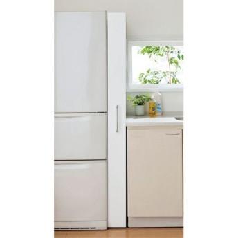 キッチンすき間収納(リバーシブル) - セシール ■カラー:ホワイト ■サイズ:B(幅20),D(幅30),A(幅15)