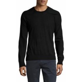 ランバン Men Clothing Solid Wool Sweater