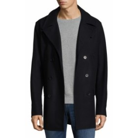 ヤレドラング Men Clothing Double Breasted Wool Jacket