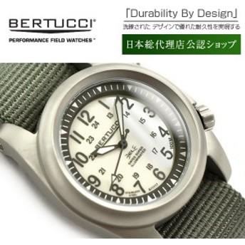 【正規品】BERTUCCI ベルトゥッチ クォーツ デュアルライティングシステム メンズ腕時計 ステンレスケース ゴーストグレーダイアル BE-22