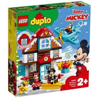 レゴ デュプロ 10889 ミッキーとミニーのホリデーハウス【送料無料】