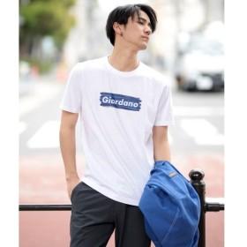 [マルイ] [GIORDANO]GIORDANOロゴTシャツ/ジョルダーノ(メンズ)(GIORDANO)