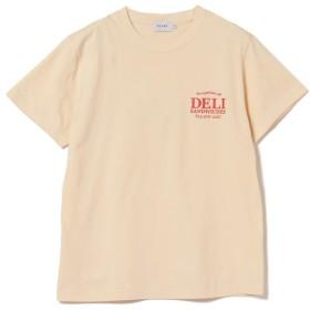 【30%OFF】 ビームス メン BEAMS / DELI プリント Tシャツ メンズ BEIGE M 【BEAMS MEN】 【セール開催中】