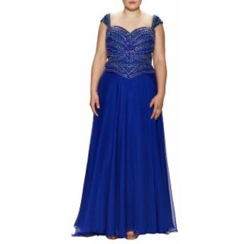 マックドゥーガル レディース ワンピース Embellished Sweetheart Gown