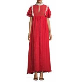 マヌーシュ レディース ワンピース Longue Ruffles Dress