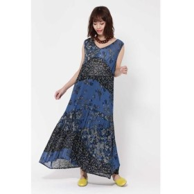 ROSE BUD / ローズ バッド MULTI FLOWER PANEL DRESS