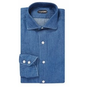 トムフォード Men Clothing Cotton Barrel Cuff Dress Shirt