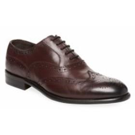 ウォール + ウォーター メンズ シューズ オックスフォード 革靴 Wingtip Roper Oxford