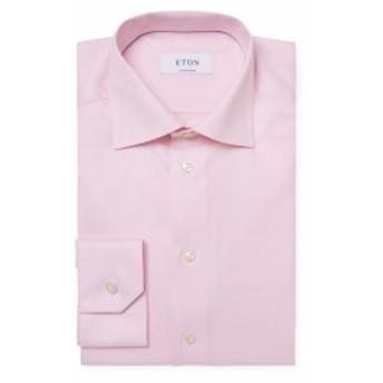 イートン Men Clothing Contemporary Fit Dress Shirt