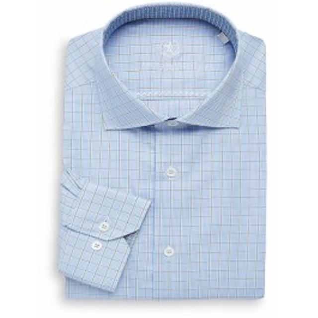 ブガッチ Men Clothing Wovens Shaped Cotton Dress Shirt
