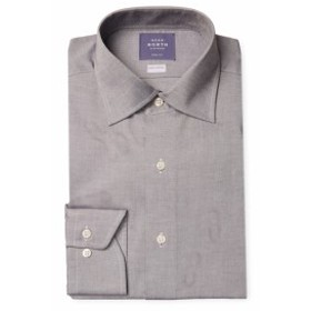 ニアーノース Men Clothing Solid Flannel Dress Shirt