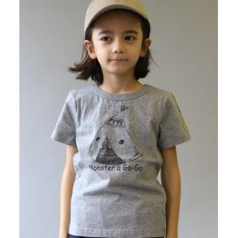 【60%OFF】 ヘッドロック 半袖Tシャツ キッズ 杢グレー 130-140cm 【HEAD ROCK】 【セール開催中】
