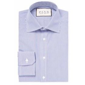 トーマスピンク Men Clothing Classic Fit Ferguson Striped Dress Shirt