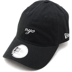 ニューエラ キャップ NEWERA CAP 9THIRTY ミニロゴ クロスストラップ MINI NYC SCRIPT メンズ レディース 帽子 BLK WHT ブラック系 12048738 SS19