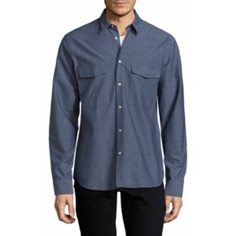 J. リンデベルク Men Clothing David Cl Moline Cotton Sportshirt